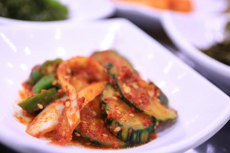 Kimchi salad,korean food traditional