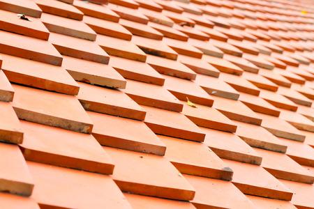 roof tiles made of terracotta