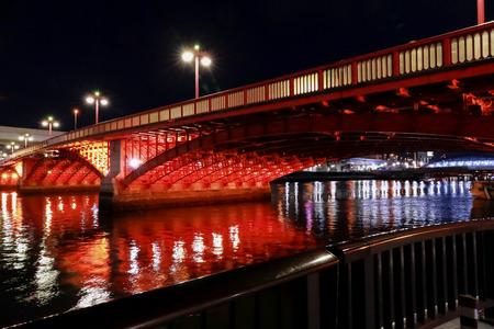 azuma bashi bridge,asakusa,tokyo,Japan 免版税图像