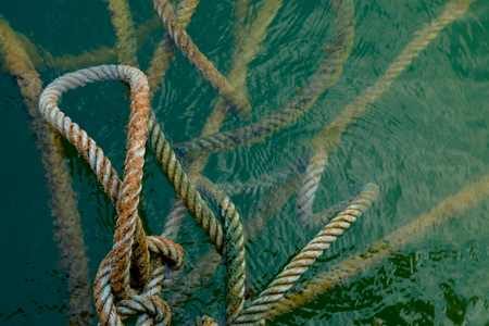 rope on the water