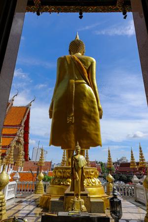 Wat Lat Phrao located at Ladprao Wanghin Rd, Khwaeng Lat Phrao, Khet Lat Phrao,Bangkok Thailand. 版權商用圖片 - 124719600