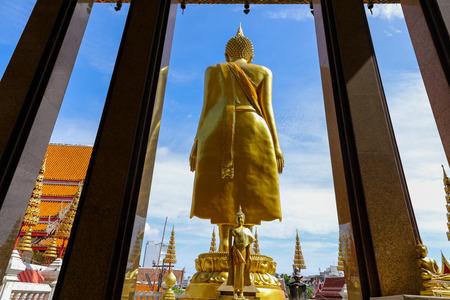 Wat Lat Phrao located at Ladprao Wanghin Rd, Khwaeng Lat Phrao, Khet Lat Phrao,Bangkok Thailand. 版權商用圖片 - 124719651