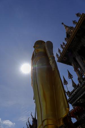 Wat Lat Phrao located at Ladprao Wanghin Rd, Khwaeng Lat Phrao, Khet Lat Phrao,Bangkok Thailand.