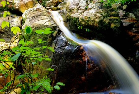 samui waterfall : tan rua waterfall at koh samui,surat thani province Thailand