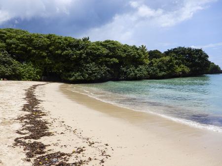 varadero: Blue sea beach Stock Photo