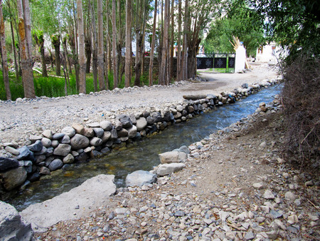 tributary: Small river tributary