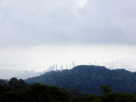 lamia: City with hills view