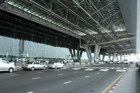 suvarnabhumi airport, main building