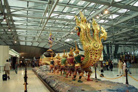 suvarnabhumi airport, International departure hall Editorial