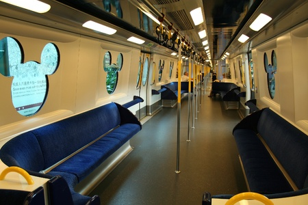 Disneyland Resort train , hongkong Editorial