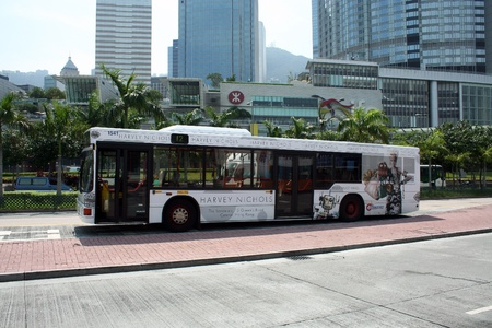 hongkong bus, transportation in hongkong