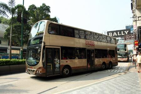 hongkong bus, transportation in hongkong