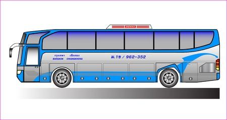 bus Ilustrace