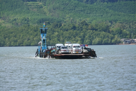 Lanta ferry, ferry between krabi and lanta island