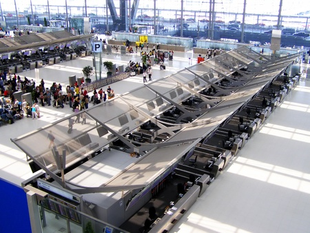 Bangkok  suvarnabhumi   airport , checkin area Editorial