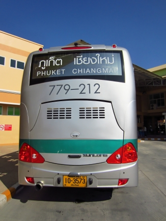 Greenbus chiang mai to phuket , The companys largest operating in north region.