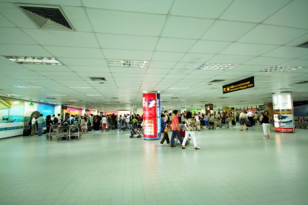 Phuket domestic baggage claim area