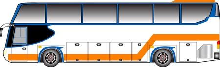 side profile: Bus grafico