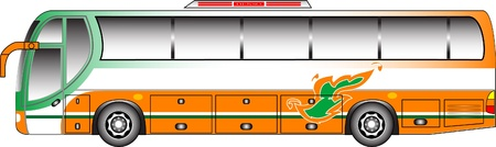 Bus graphic Vector