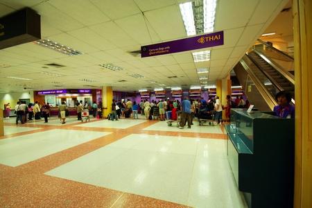 Check in area, phuket international airport