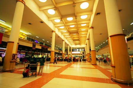 Check in area, phuket international airport Stock Photo - 15485281