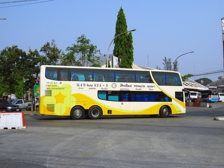 Phetprasert tour, bus route Chiangmai and Ubon ratchathani, north and eastern region of thailand