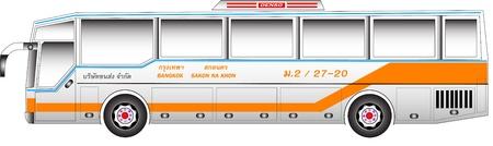 Bus graphic benze argentina body Illustration