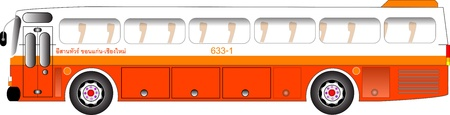 Bus graphic Stock Vector - 15657263