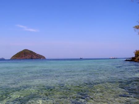 Beautiful sea near hay island, phuket thailand  Stock Photo