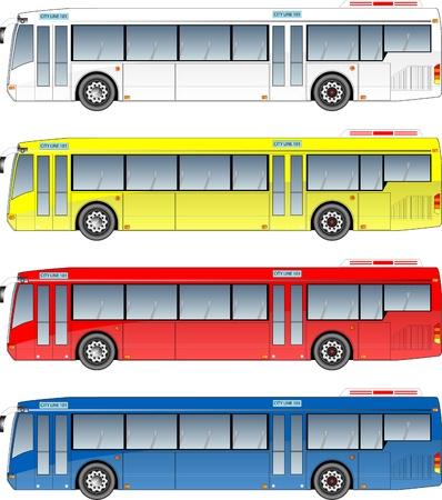 市バス グラフィック