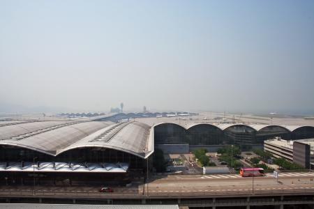 Airport overview, hongkong airport Sajtókép