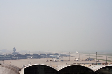 Airport overview, hongkong airport