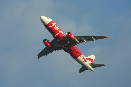Airasia airbus a320-200 Stock Photo - 16744632