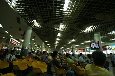 bus station: Bangkok bus station, mo chid.