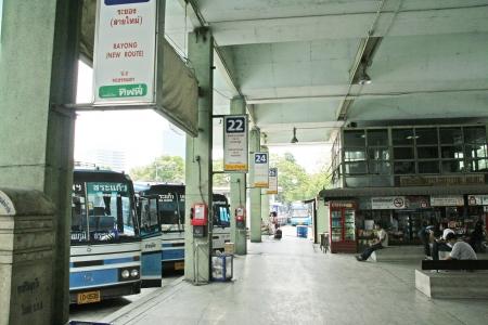 bus station: Bangkok bus station, akamai.