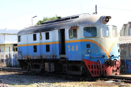 davenport: davenport locomotive,  lampang province, thailand.