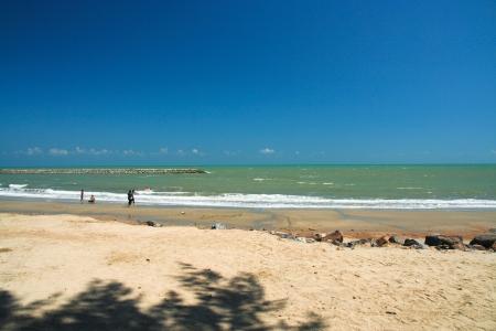 Jao samran beach, phet buri province thailand  photo
