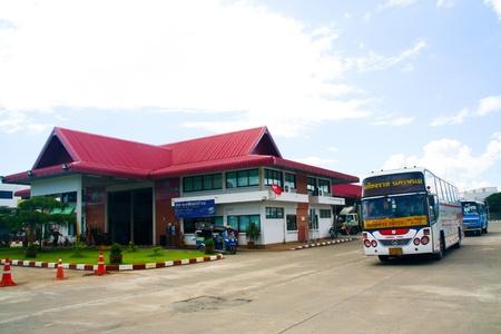 bus station: Chiangrai bus station