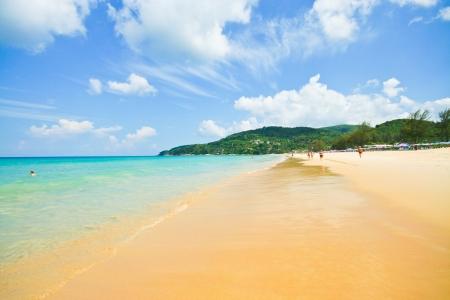 Beautiful sea , phuket thailand Banco de Imagens - 18013192
