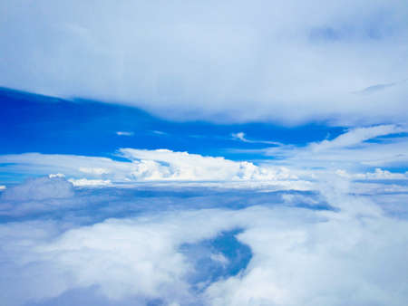 cloud with blue sky photo