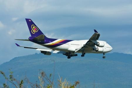 747 400: thaiairway Boeing 747-400