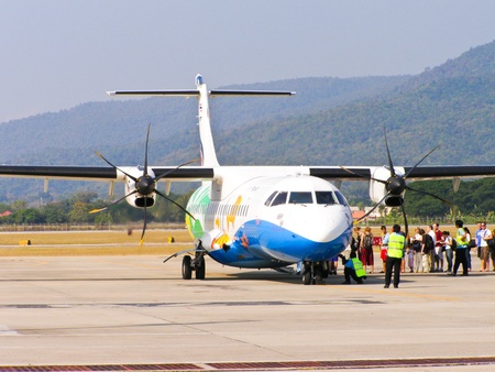 ATR72-200 BANGKOKAIRWAY Stock Photo - 18305929