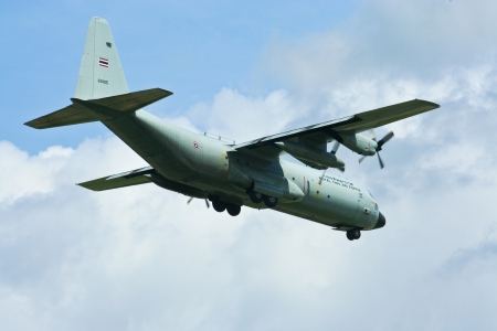 C-130 Hercules of of Royal Thai Air Force ,RTAF.