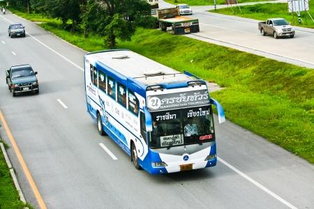 Nakhonchai tour, bus between chiangmai and nakhon ratchasima province, photo at chiangmai or bus station.