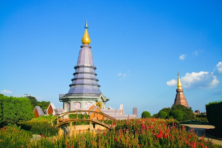 Place leisure travel, Doi Inthanon national park of Thailand  photo