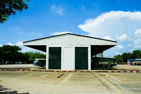 bus station: Lumphun bus station Editorial