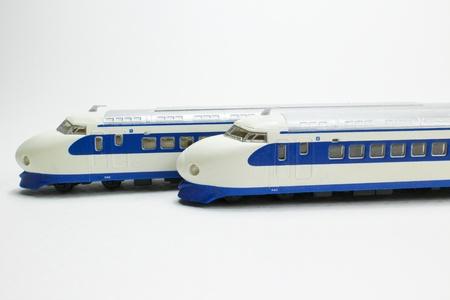 Japan bullet train Stock Photo