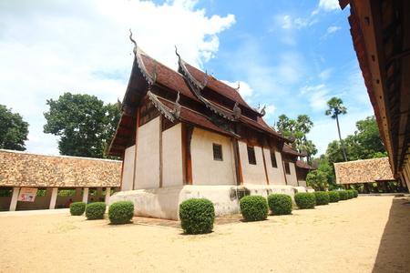 Chiangmai temple, Lanna thai  north thailand architecture, Wat ton kwan, chiangmai, thailand