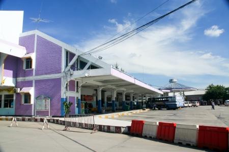 bus station: Chiangmai bus station