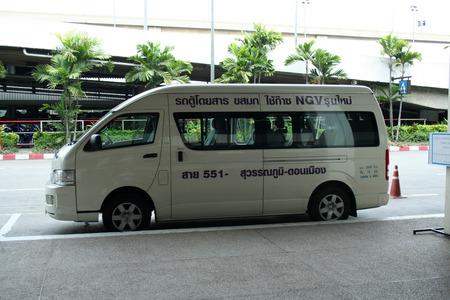 Van route 551 donmueng and Suwanaphumi airport